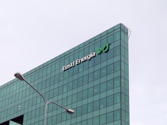 Eesti Energia logo valgustähtedega