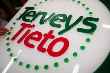 Mahulised tähed profiil 00 - Terveys Tieto mahuline logo 10 mm kirkast akrüülist , mis on kaetud kleebiskiledaga 8