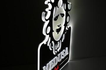 Valguskastid Medusa 2 led reklaam pr L11