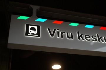 Valguskastid profiil L10 - Viru keskuse bussiterminal 12