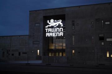 Valgustähed profiil 5 - Tallinn Arena ettevalgustuvad logo ja tähed 5