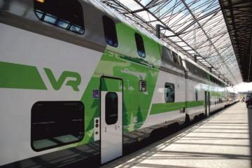 Digitrükk - Soome VR Yhtiö rongide ja vagunite katmine trükitud kleebistega 3