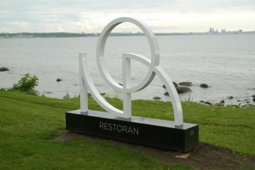 NOA restorani valgustatud logo 1