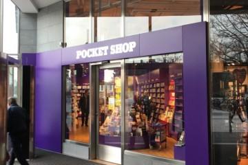 Portaalid -Pocket Shopi valgustatud logoga ukseportaal1