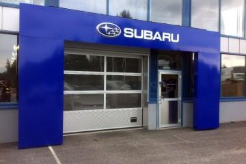 Portaalid -Subaru valgustatud logoga ukseportaal2
