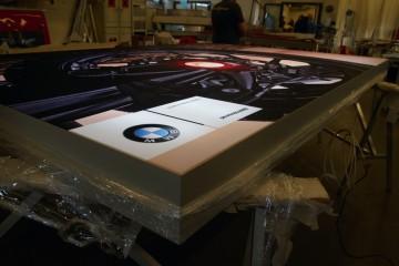 Reklaambännerid - BMW kangaga valguskast 1