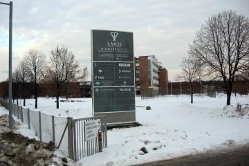 Reklaampostid - Lahti Science and Business Park reklaamtorn 18