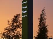 Reklaampostid - Lasnamäe Centrumi reklaamtorn 13