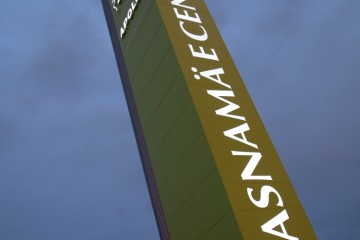 Reklaampostid - Lasnamäe Centrumi reklaamtorn 15