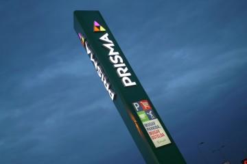 Reklaampostid - Prisma reklaamtorn 10