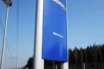 Reklaampostid - Subaru reklaamtorn 5