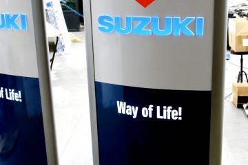 Reklaampostid - Suzuki väike reklaamtorn 16