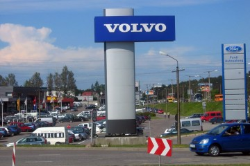 Reklaampostid - Volvo reklaamtorn 3