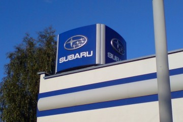 Valguskuubik - Subaru valguskuubik katusele 5