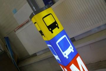 Valguskuubikud - Helsingi metroojaama valguskolmnurk 2